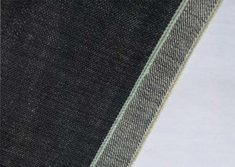 China Twill Athletic Japanese Denim Fabric By The Yard , 17.9oz Coloured Denim Material supplier