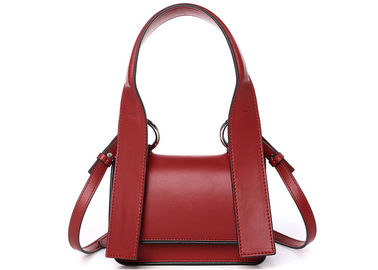 China Multi Color Over The Shoulder Bags , 2 Layers Cellphone Soft Leather Handbags supplier