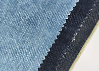 China 16 Oz Selvedge Denim Fabric 100% Cotton Composition Indigo With Slub W88930-4 factory