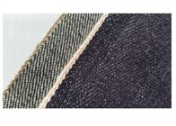 32 Inches Cotton Black Denim Fabric , Lady Dresses Colored Denim Fabric