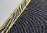 Super Heavy Weight Selvedge Denim Fabric Twill For Clothes / Furinture W98538