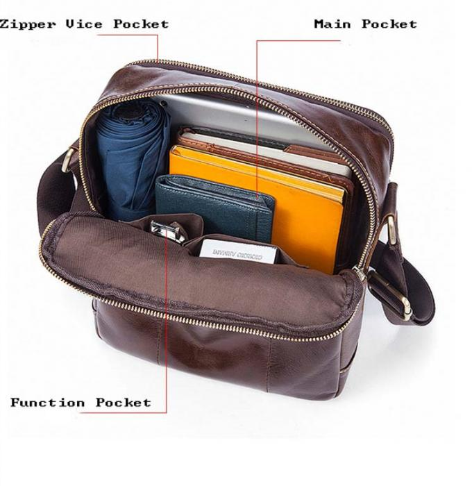 mens leather shoulder bags